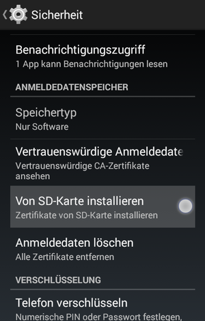 install root certificate android 4.4