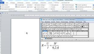 Mathtype Editor