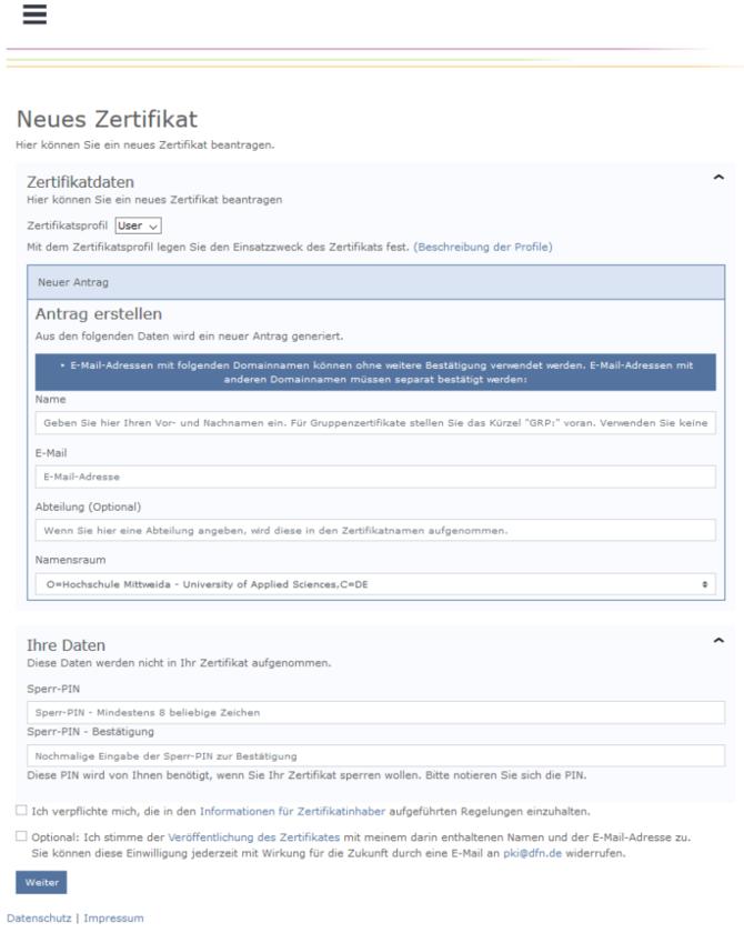 Zertifikate Wiki